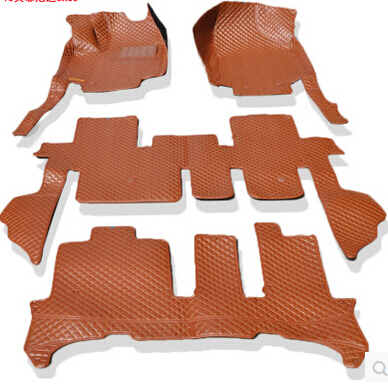 Good mats Custom special floor mats for Nissan Pathfinder 7seats 2017 2013 waterproof carpets for Pathfinder