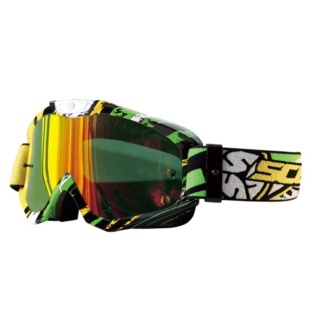 SCOYCO Motocross Goggles Cross Country Skiing Snowboard ATV Mask Oculos Gafas Motocross  ...