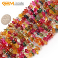 Freeform Chips Quartz Beads For Jewelry Making 6X8mm 15inches Gravel Beads DIY Jewellery Bracelet Necklace FreeShipping Gem