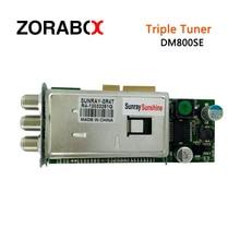 D'origine tuner dvb-s2 + c + t2 3 en 1 triple tuner pour combo récepteur pour SR4 estarbox triple, sunray triple, 800se triple,