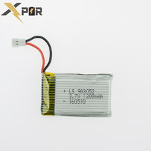 Top 3.7v 1200Mah 25C Xpower Li-polymer Battery For Syma X5SW X5SC M18 H5P Drone RC Quadcopter Hot Sale Helicopter Lipo Batteries