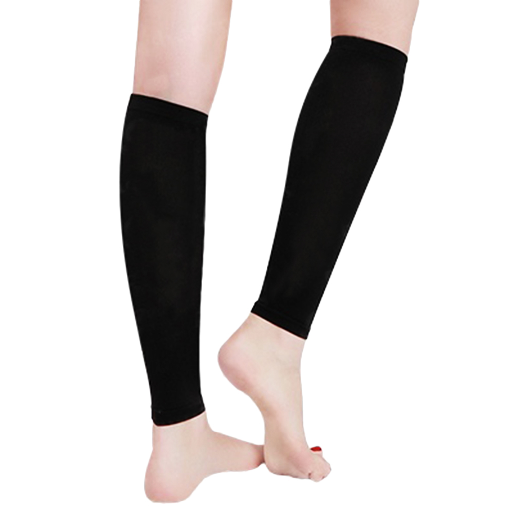 Fancyteck 3 Pair Unisex Leg Calf Sleeves Men Women Varicose Vein Circulation Compression Socks Medical Elastic Stockings