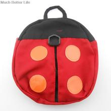 Cute Lovely Baby Child Kids Cartoon Red Ladybug Gray Bat Safety Backpack Anti lost Walking Wings Harness Strap Keeper Bag