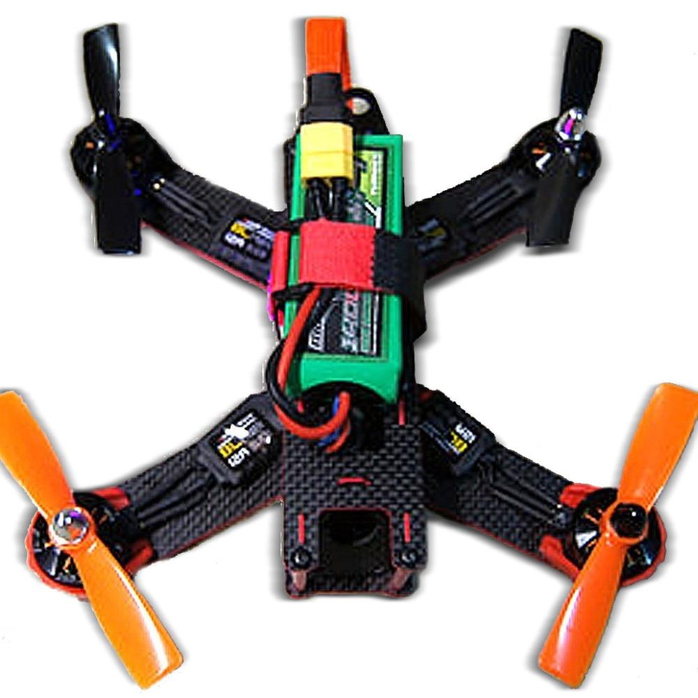 Carbon Fiber QAV210 FPV 4 Axis Quadcopter Kit W/ Hobbymate 2204 Motor, Upgrade BLHeli 15A ESC's,Props, Motor Protector drone with camera rc plane qav 250 carbon frame f3 flight controller emax rs2205 2300kv motor fiber mini quadcopter