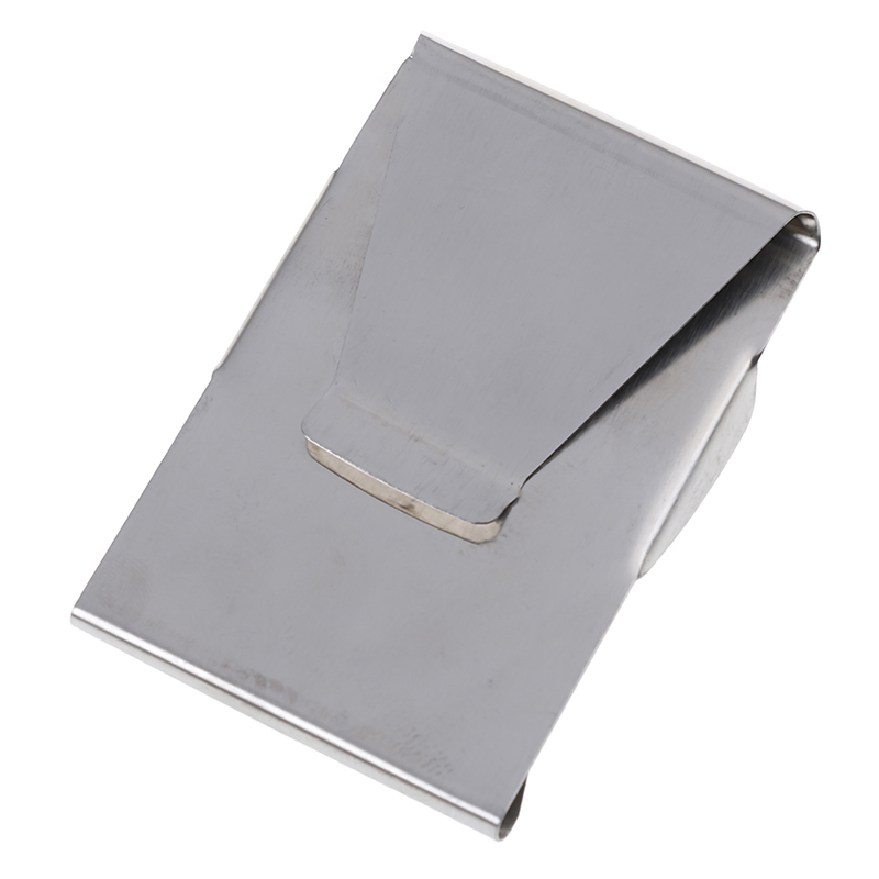 Multifunctional Double Sided Wallet ID Slim Money Clip Card Holder