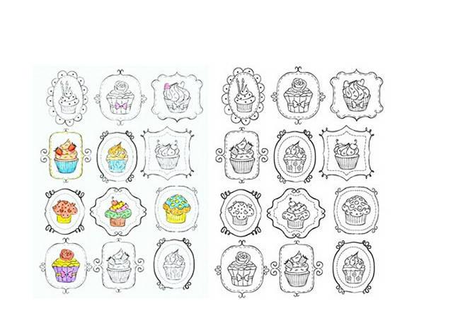 Online Shop Inspiration Vintage 50 Coloriages Anti Stress Volume 2