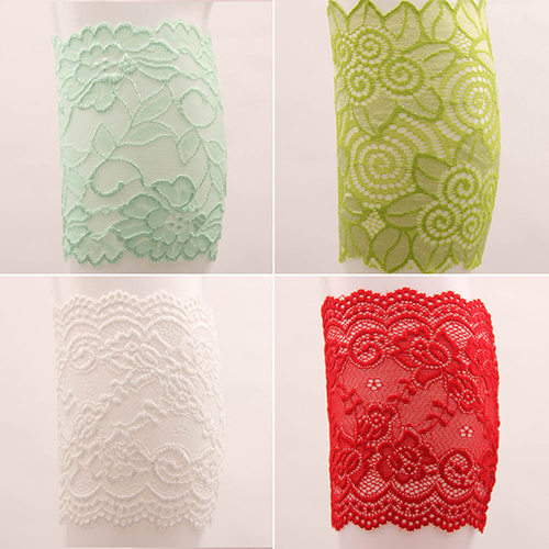 New Arrival Women Fashion Stretch Lace Floral Boot Leg Cuffs Soft Boot Socks Leg Warmers