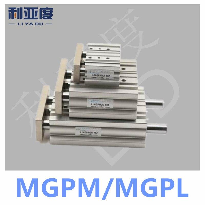 MGPM12-20 Thin cylinder with rod Three axis three bar MGPM12*20 Pneumatic components MGPL12*20 MGPL12-20MGPM12-20 Thin cylinder with rod Three axis three bar MGPM12*20 Pneumatic components MGPL12*20 MGPL12-20
