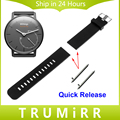 18mm Silicone Rubber Watchband with Quick Release Pin for Withings Activite / Steel / Pop Smart Watch Band Resin Bracelet Strap