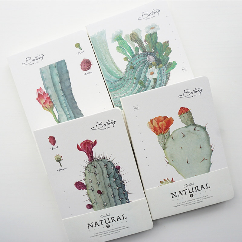 The Cactus Big Journal Beautiful Notebook Diary Study Notepad Planner
