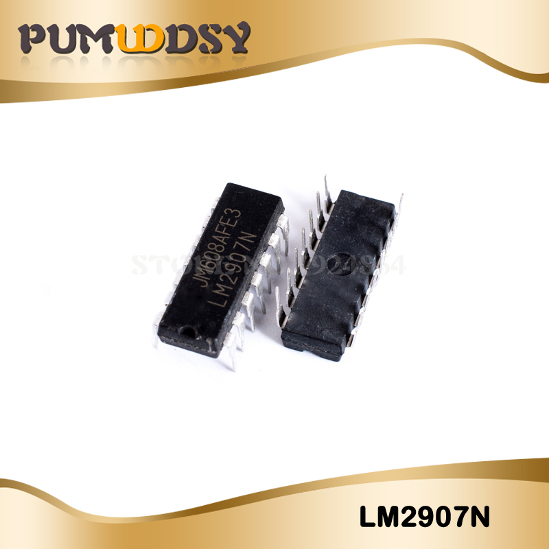 50pcs/lot LM2907N LM2907 DIP14 in stock IC image