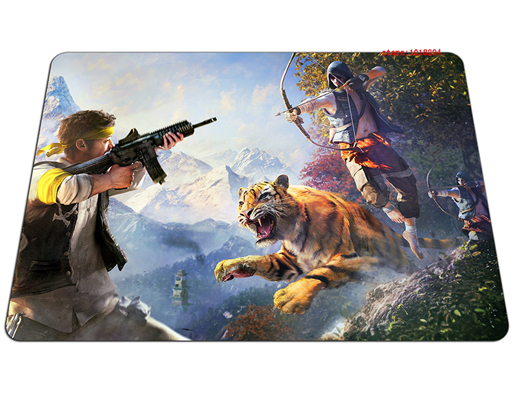 far cry mouse pad High quality gaming mousepad HD print gamer mouse mat pad game computer desk padmouse keyboard large play mats
