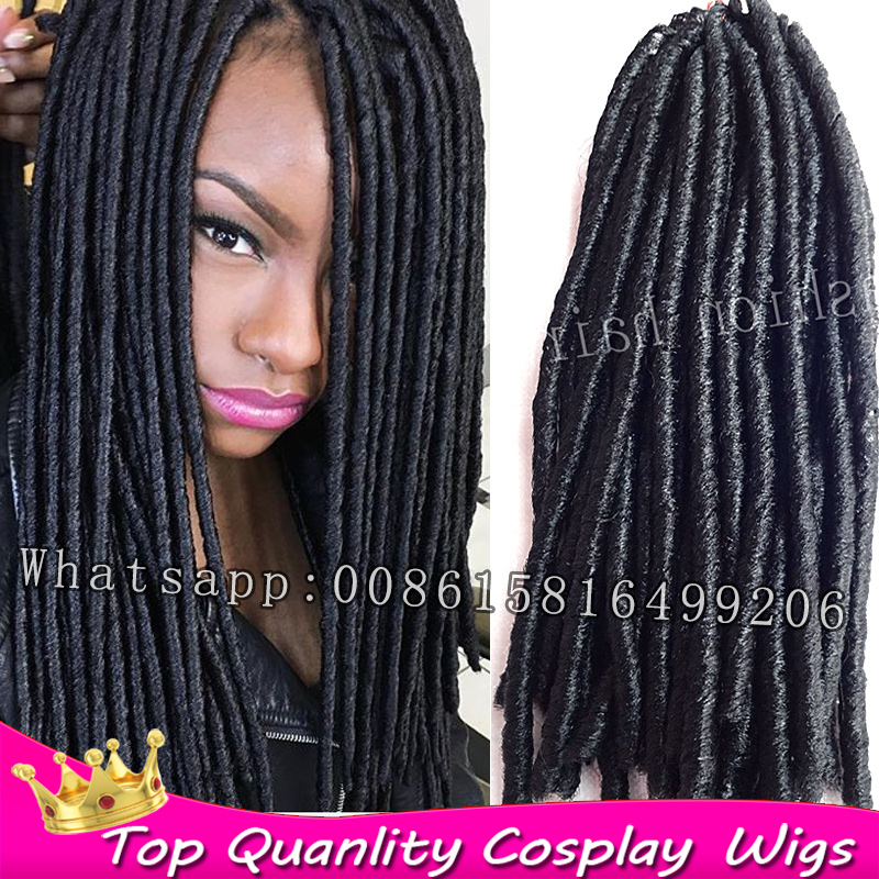 Aliexpress.com Acheter Crainte doux cheveux havana mambo twist tresses crochet cheveux dreadlock extensions synthétique dreads tresse africaine tressage