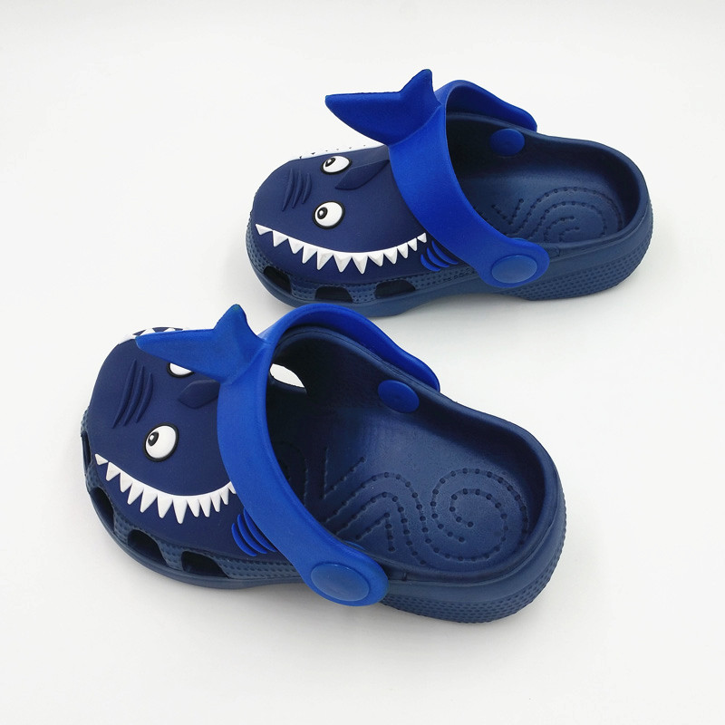 d9714379d7f3c Boys and Girls Summer Baby Home Slippers Children Sandals Baby Kids Beach  Shoes Clog Croc Fit Shoe Charms Flip Flops Slippers-in Slippers from Mother    Kids ...