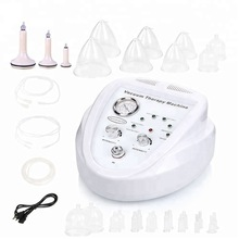 New2019 Electric vacuum therapi machine Lymph Drainage/Face Slimming/ breast enlarger beauty instrument enhancing cupping device недорого