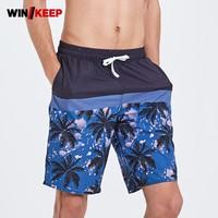 2019 Summer Mens Swimming Trunks Beach Shorts Men Printing Mens Shorts For Swimming Short De Bain Homme Swimwear Sea Short Swim