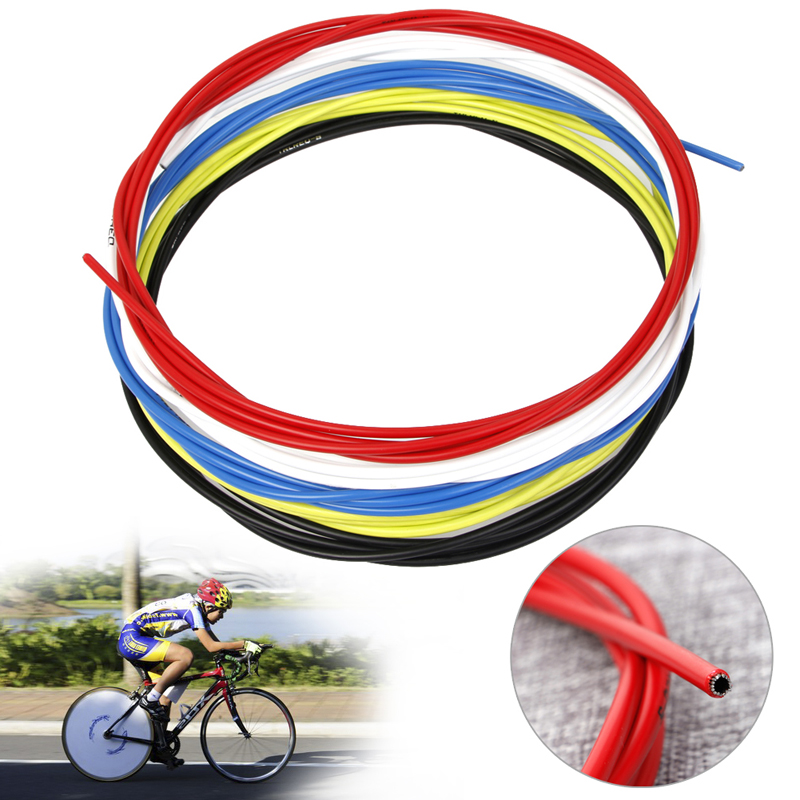 3m Bike Bicycle Cycling Shift Cable 4mm Mountain Road Line Pipe Colorful Wire
