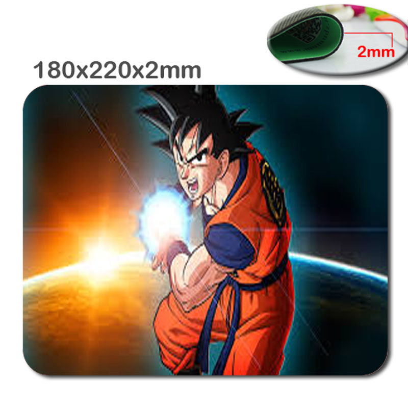 2017 New Arrival Top Selling Print Anime Dragon Ball Customized Rectangular Computer Gaming Mouse Pad Gamer Play Mats