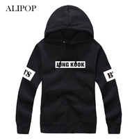 ALIPOP Bluza Z Kapturem Bluzy K-POP KPOP BTS Bangtan Boys V Album Z Hat Odzież Pullover Wydrukowano Z Długim Rękawem Bluzy WY127
