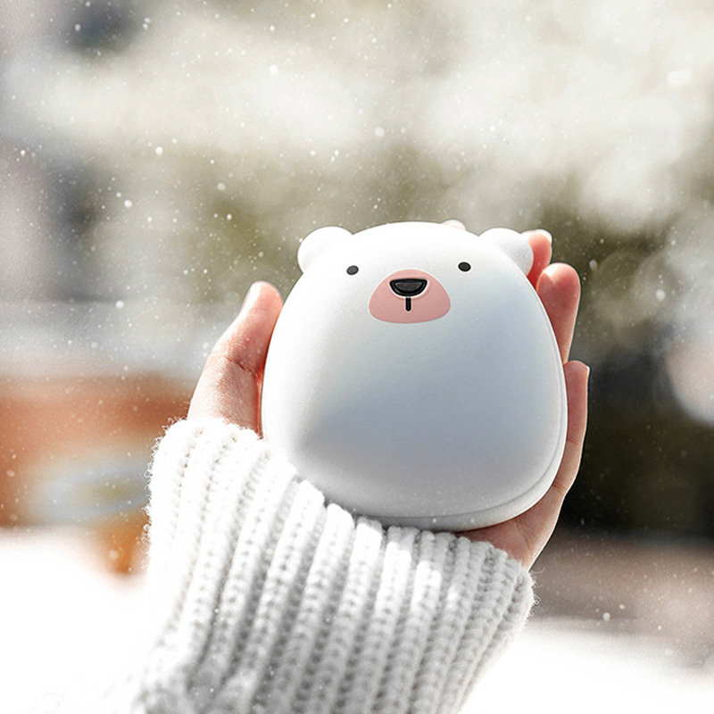 Mini Electric Heater Hand Warmer Pocket Charging Portable USB Winter Cute Gift Heating