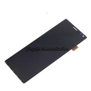 Image 2 - Оригинальный дисплей для Sony Xperia 10 I3123 I3113 I4113 I4193 ЖК дисплей с сенсорным экраном дигитайзер для Sony Xperia 10 ЖК дисплей запасные части