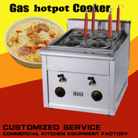1PC FY 4M.R Commercial Gas multi functional commercial kanto cooking machine Snack equipment cooking pot