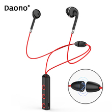 Фотография New BT313 Magnetic Bluetooth Headset  Earphone Sport Running Headphone Bluetooth Earpiece With Mic Stereo Earbuds For all phone