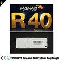 WYSIWYG R40 Dongle Inglese Rilascio 40 R40 Cane Preforme Criptato Cane Illuminazione Luogo delle Prestazioni Palcoscenico Software di Progettazione