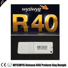 Wysiwyg r40 dongle inglês liberação 40 r40 cão pré forma criptografado cão iluminação palco teatro desempenho design local software
