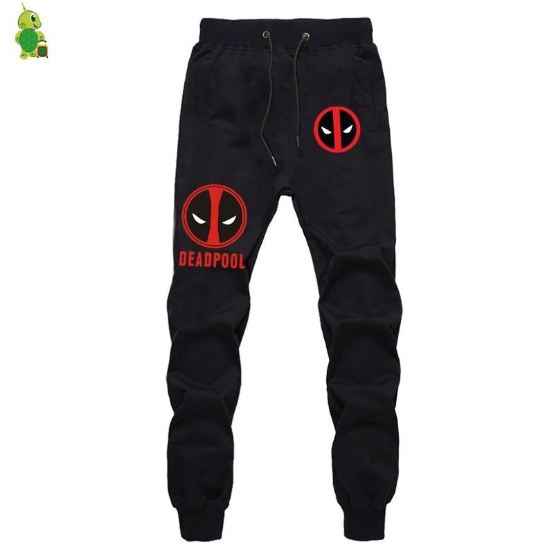 Deadpool Pants Luminous Pants Men Joggers Streetwear Casual Pants Long Trousers Sportswear Pants Fashion Fitness Sweatpants