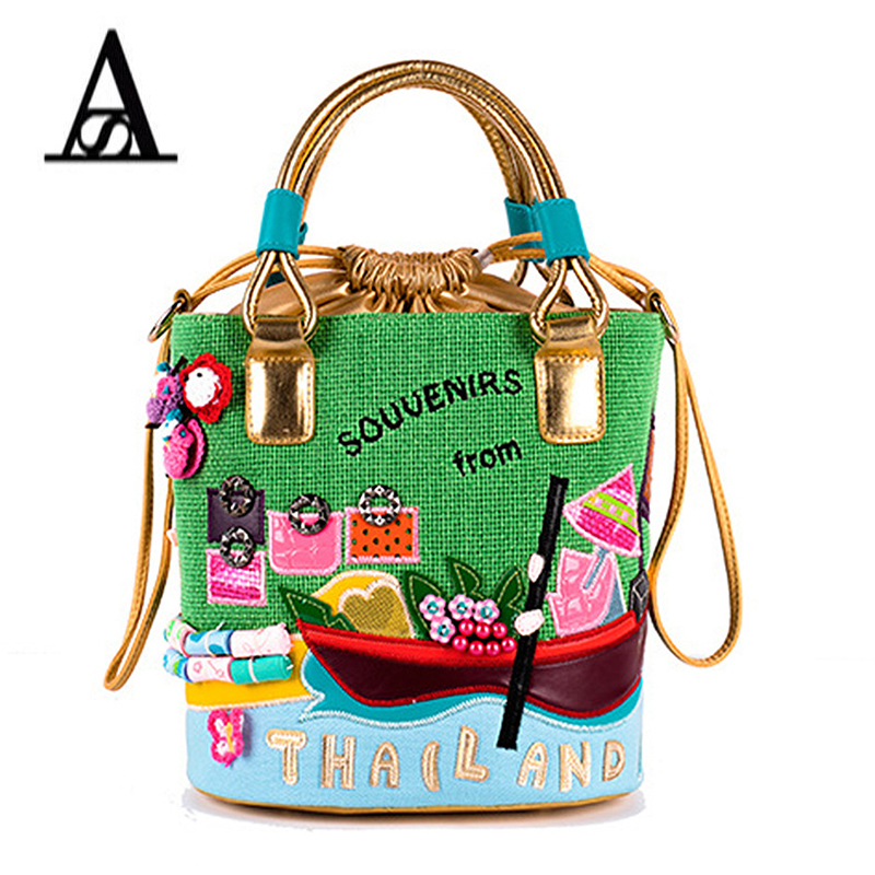 Women Bags Designers Italy Braccialini Cute Candy Color Bag Women Shoulder Bag Tote Bag Canvas Bolsa Feminina Luxury Handbags trendy zippers and candy color design women s tote bag