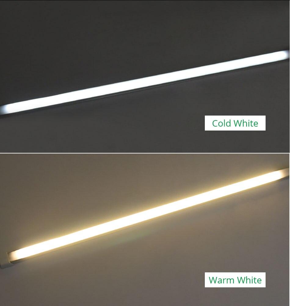 LED Under Cabinet Light 4W 7W 11W 14W Rigid Strip Bar Light Kitchen Home Decoration Hardwired Fixtures Bookcase Closet  (7)