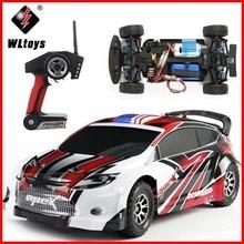 купить WLtoys A949 Racing RC Car Original RTR 4WD 2.4GHz Toys Remote Control Car 1:18 High Speed 50km/h Electronic Car Free shipping дешево