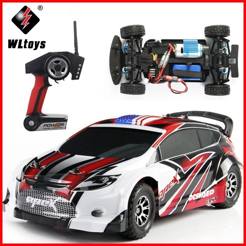 WLtoys A949 Racing RC Car Original RTR 4WD 2.4GHz Toys Remote Control Car 1:18 High Speed 50km/h Electronic Car Free shipping