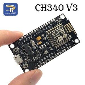Новый беспроводной модуль CH340 CH340G / CP2102 NodeMcu V3 V2 4 м Lua Wi-Fi Интернет вещей Плата развития ESP8266