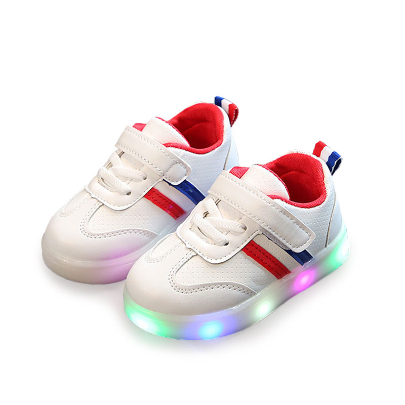 Luminous sneaker girls,Girls glowing sneakers,Shoes for baby girls,Childrens shoes,Girls shoes with luminous sole fashion BS036