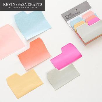 Многоцветная блокнот 90 листов канцелярская клейкая бумага для заметок наклейки Скрапбукинг милый качественный блокнот Diy Канцтовары Kawaii