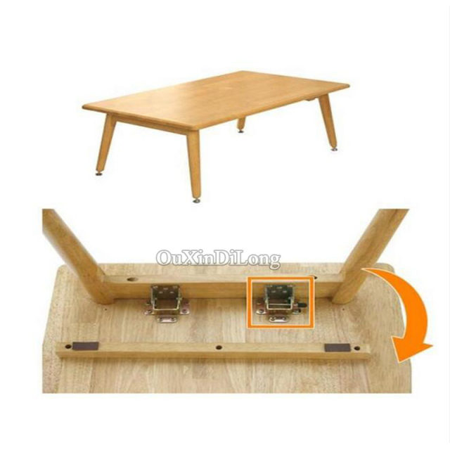 Online Shop Brand New PCSlot Iron Locking Folding Table Chair Leg - Picnic table bracket kit