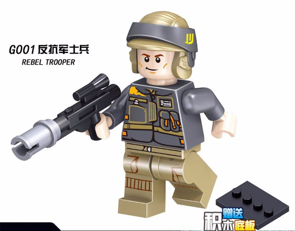Товар 20PCS Star Wars Rey Luke Skywalker Ahsoka Tano Kit Fisto ... 7a9bc4836658