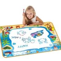 100*70cm Doodle Coloring Book Mat for Toddlers Aquadoodle Water Drawing Mat Large Magic Aqua mat Funny for Kids Educational Toys