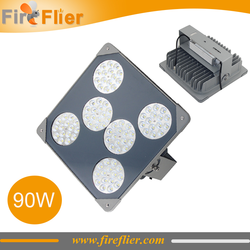 4pcs Gas station <font><b>led</b></font> canopy light 80W AC100-277V Parking lot Lamp <font><b>60w</b></font> 120w <font><b>LED</b></font> Canopy Retrofit Light Gas station <font><b>floodlight</b></font> image