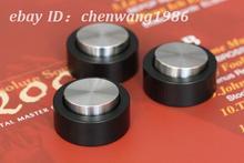 1 set Gravé TIGLON de haute qualité SUS304 acier inoxydable amplificateur haut-parleur pieds