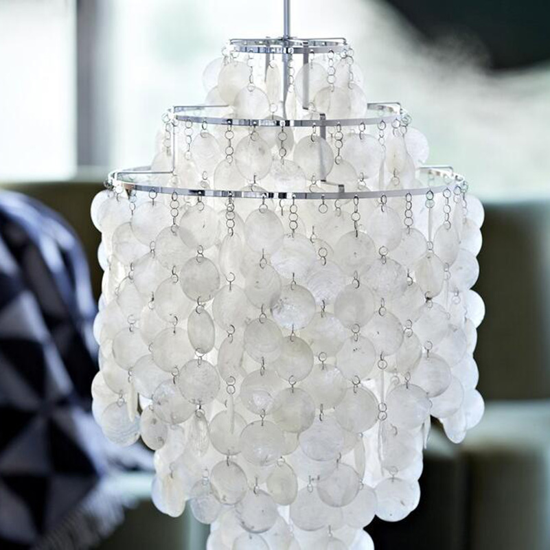 Chandelier Light Natural Seashell Lighting Dia30 20cm E27 White Lamp Hot Ing Lighter Like All People Lamps Size You Choose In Chandeliers From Lights