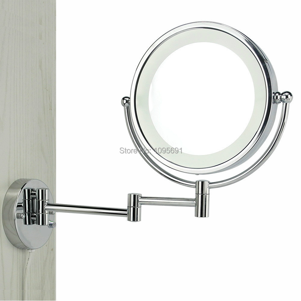 Lighted Vanity Mirror - Round Vanity Mirror With Lights