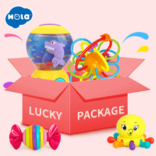 HOLA  Lucky Package Bag Game Gift 3 BABY TOYS Least Worth US $10 In Normal Times