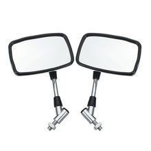 1 пара 10 мм/8 мм мотоциклетные зеркала заднего вида мотоцикла Зеркала подходят для Honda 250/Suzuki Зеркало заднего вида