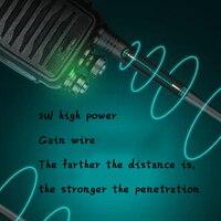 רדיו ווקי 2pcs סט חדש מכשיר הקשר רדיו דו כיווני תחנת משדר שני הדרך רדיו Communicator USB טעינה ווקי טוקי WT.A610 (3)