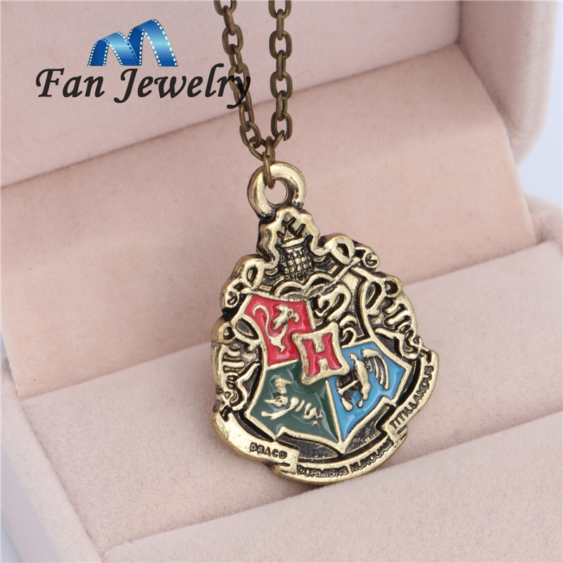 us jewelry house jewelry hogwarts house pendant necklace xl093hg us673 6441