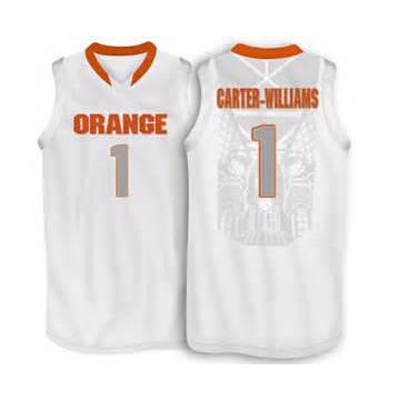 pretty nice 0b1e4 ae397 1 Michael Carter Williams Syracuse Orange basketball Jersey ...