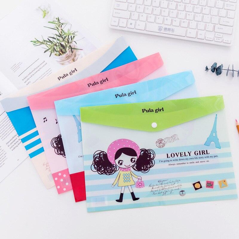 File Folder Office Cool Sunglasses Girl W47 F07 F01 F05 F01 F04 F03 Filling F05 School Creative Suppllies Student Supplies F05